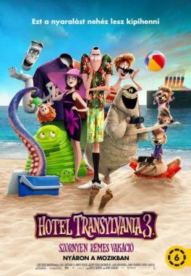 Hotel Transylvania 3: Szörnyen rémes vakáció (2018)